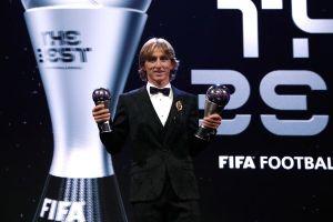 Đánh bại C.Ronaldo, Modric giành The Best - Cầu thủ xuất sắc nhất 2018