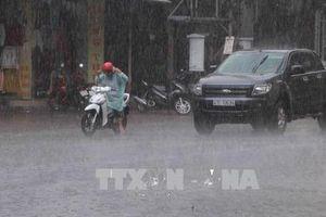 Đêm 25/9, Hà Nội không mưa, các khu vực khác có mưa rào và dông