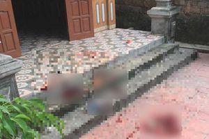 Án mạng kinh hoàng, 3 người trong gia đình bị anh em trong họ sát hại lúc rạng sáng