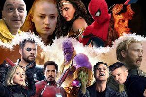 2019 sẽ là năm có nhiều phim siêu anh hùng nhất từ trước đến nay