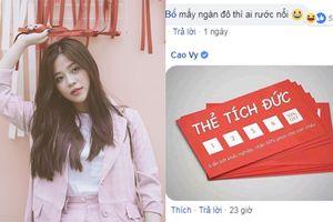 MC Cao Vy mở lại Facebook, không gay gắt đáp trả mà lặng lẽ tặng người chỉ trích mình tấm 'thẻ tích đức'