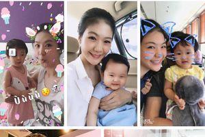 Lên chức mẹ chưa lâu, trang cá nhân của cơ trưởng Huỳnh Lý Đông Phương đã ngập tràn ảnh bé Pika siêu dễ thương