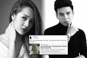 Bảo Anh mừng Hồ Quang Hiếu ra MV nhưng cô nàng vẫn phàn nàn một điều ở bài mới của 'tình cũ'