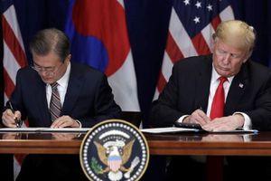 Mỹ và Hàn Quốc ký kết lại thỏa thuận thương mại tự do
