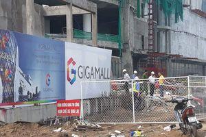 TP HCM: Sau vụ 3 công nhân rơi xuống đất nguy kịch, công trình TTTM bị đình chỉ