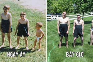16 bức ảnh tái hiện tuổi thơ của những người vui tính