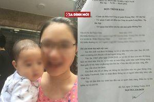 Mẹ ôm con 8 tháng tuổi bỏ đi, gia đình nghi trầm cảm sau sinh