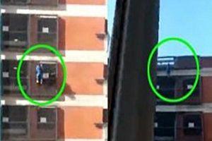 Cô gái tay không leo lên 8 tầng của tòa nhà khiến cộng đồng mạng kinh ngạc