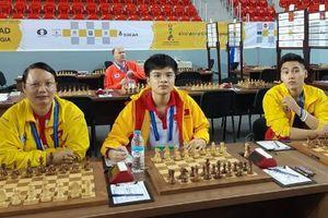 Việt Nam toàn thắng mở màn giải cờ vua đồng đội thế giới