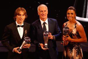 Luka Modric giành giải Cầu thủ xuất sắc nhất của FIFA