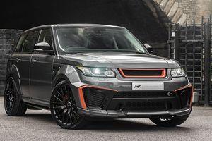 Chiêm ngưỡng Range Rover Sport SVR độ dưới bàn tay của Kahn Design