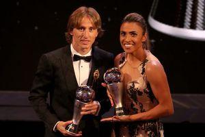 Vượt Ronaldo, Modric giành giải The Best