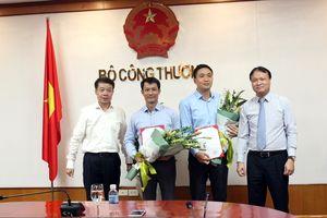 Trao quyết định bổ nhiệm nhân sự tại Bộ Công thương