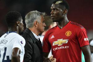 Mourinho giải thích lý do loại Pogba khỏi trận Derby County
