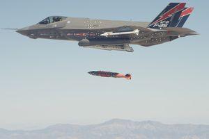 'Thn sm' F-35B s tham chin ln u  Afghanistan
