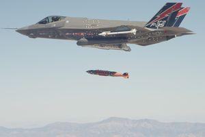'Thần sấm' F-35B sẽ tham chiến lần đầu ở Afghanistan
