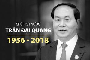 Lời từ biệt xúc động trong sổ tang Chủ tịch nước Trần Đại Quang