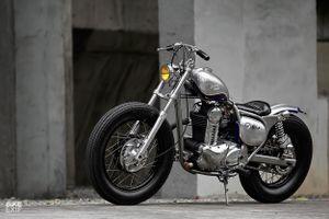 Kawasaki BJ250 độ phong cách bobber lạ lẫm