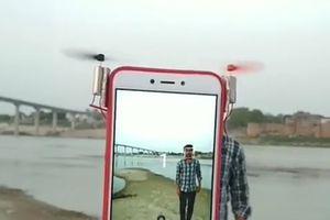 Ý tưởng biến iPhone thành flycam để dễ dàng tự sướng