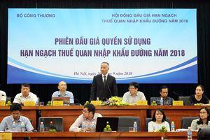 Chính phủ đang xem xét dỡ bỏ thuế quan hạn ngạch đường từ các nước ASEAN