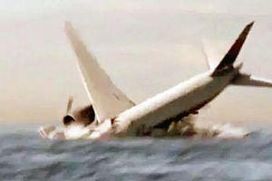 Sốc: Phút cuối của MH370, vọt khỏi bầu trời rồi lao thẳng xuống biển!
