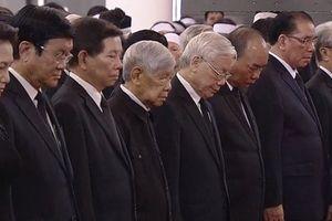 Lãnh đạo Đảng, Nhà nước viếng Chủ tịch nước Trần Đại Quang