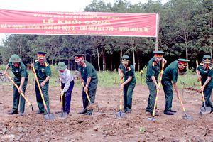 Khởi công xây dựng điểm trường mầm non ở xã biên giới Ia Đal