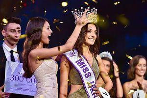 Hoa hậu Ukraine 2018 bị tước danh hiệu vì lộ bằng chứng đã sinh con