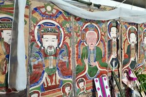 Bí ẩn tranh thờ cúng của dân tộc Dao