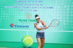 Bóng hồng người Pháp gốc Việt có màn chào sân ấn tượng ở VTF Pro Tour