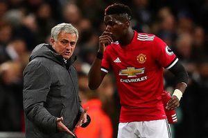 Mourinho và Pogba 'đại chiến' khiến M.U lao đao
