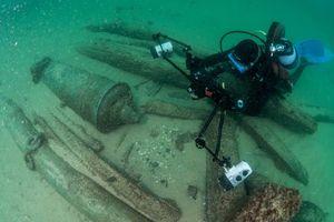 Xác tàu 400 năm ở Bồ Đào Nha