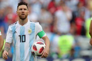 Messi sẽ vắng mặt trong 2 trận giao hữu của tuyển Argentina