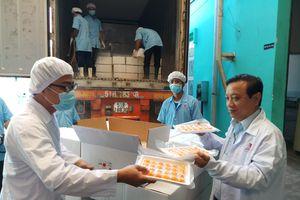 Lô hàng trứng vịt muối Việt đầu tiên xuất sang Úc
