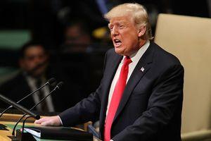 Ông Trump thể hiện lập trường cứng rắn với Trung Quốc tại Liên Hiệp Quốc