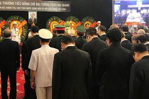 Trang nghiêm lễ viếng Chủ tịch nước Trần Đại Quang tại TPHCM