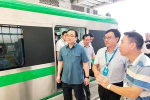 Metro vận hành an toàn và chưa xảy ra đột biến