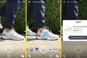 Snapchat cho phép người dùng mua sắm trên Amazon qua camera