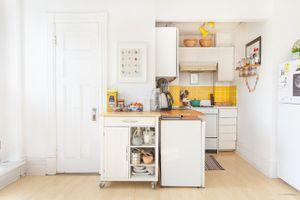 Thiết kế thông minh, hiện đại cho căn bếp nhỏ 3m2