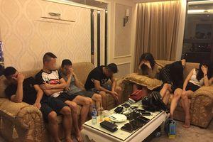 Nghệ An: Bắt quả tang 7 đối tượng thuê phòng khách sạn 'bay lắc' tập thể