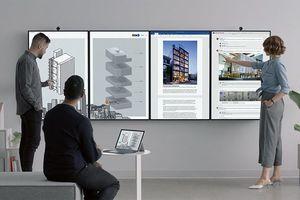 Microsoft ra mắt máy tính bảng gắn tường Surface Hub 2S và 2X