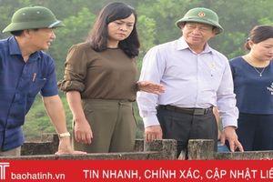 Phối hợp vận hành hiệu quả các hồ, đập ở Hương Sơn