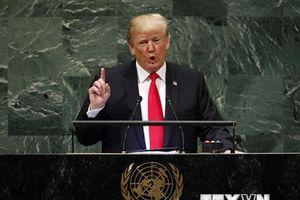 Tổng thống Mỹ nhấn mạnh vấn đề chủ quyền và hợp tác quốc tế