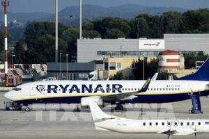 Ryanair hủy hàng trăm chuyến bay vì nhân viên đình công
