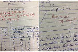 Loạt ảnh lời phê vào bài kiểm tra 'bá đạo trên từng hạt gạo' của giảng viên Học viện Tài chính