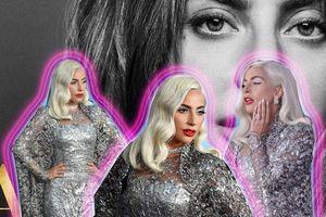 Không phải những bộ trang phục cá tính nổi loạn, Lady Gaga sang trọng lạ mắt tại buổi ra mắt 'A Star Is Born'