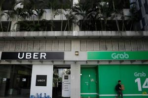 Grab và Uber bị phạt 9,5 triệu USD vì vụ sáp nhập ở Singapore