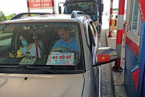 Phát hiện nhiều 'xe hộ đê' giả đi qua trạm BOT Cao tốc Hà Nội - Hải Phòng