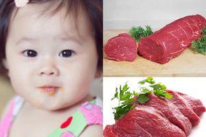 Chuyên gia hướng dẫn cách chế biến các món ăn dặm từ thịt bò giúp bảo toàn nguồn dinh dưỡng cho trẻ