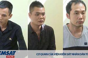 Sơn La: Phê chuẩn bắt giam ba đối tượng cướp tiệm vàng